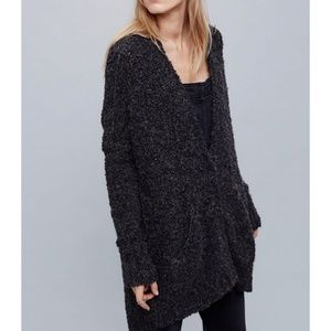 Free People Boucle Slouch Cardigan Size Small